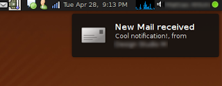 Jaunty Notifications for Thunderbird