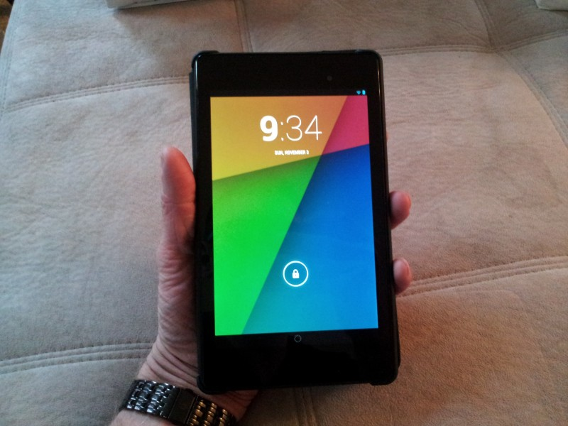 Welcoming the Nexus 7