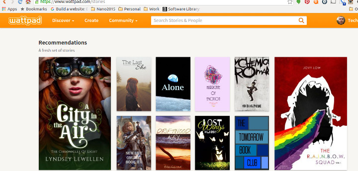 Driftwood Key Featured on Wattpad and Tablo