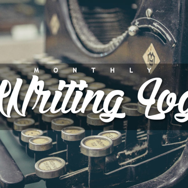 Monthly Writing Log