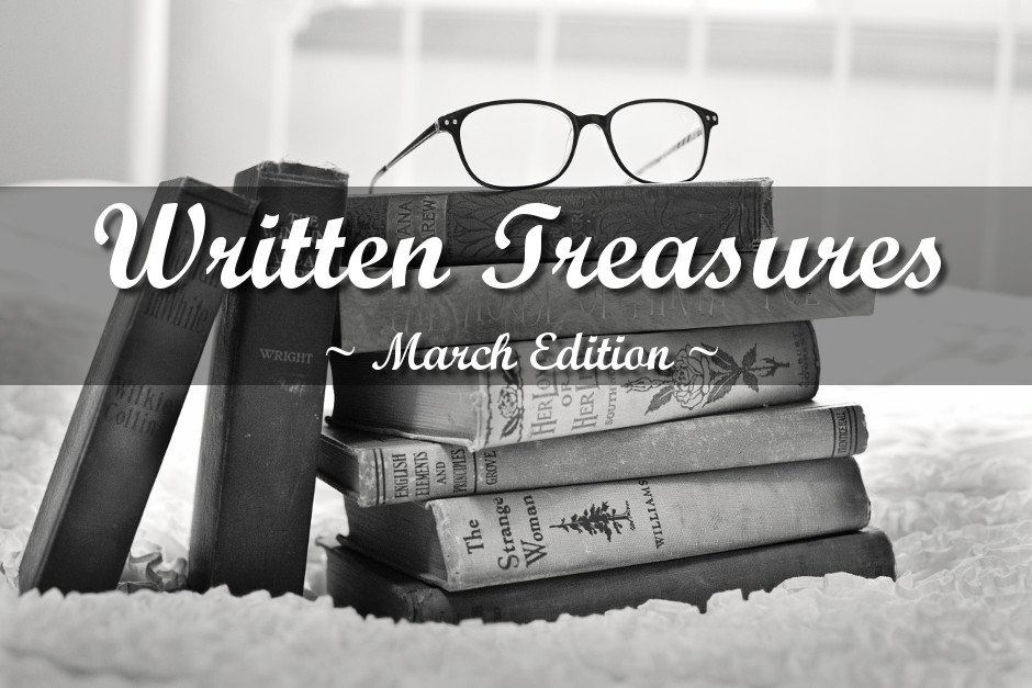 Written Treasures – March Edition