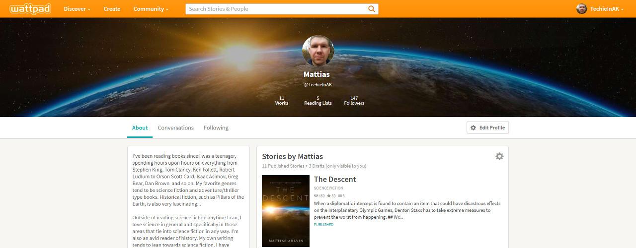 Wattpad Profile