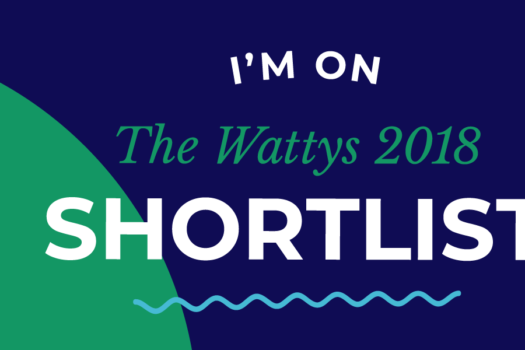 Shortlisted For The Wattys 2018