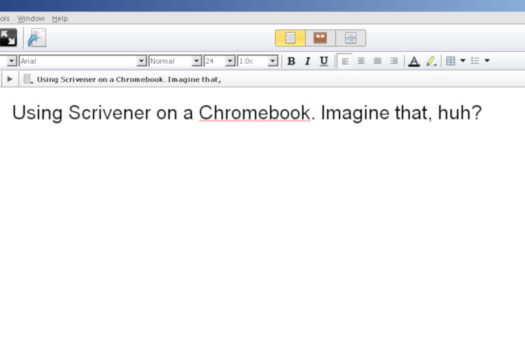 How To Install Scrivener On A Chromebook