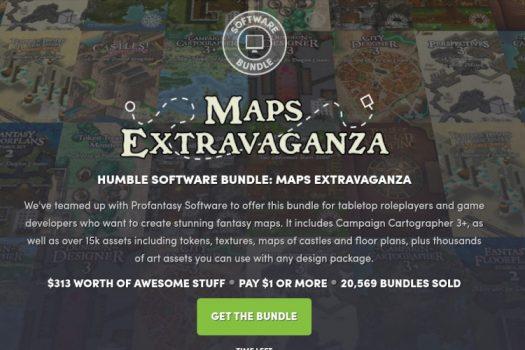 Map Extravaganza At Humble Bundle